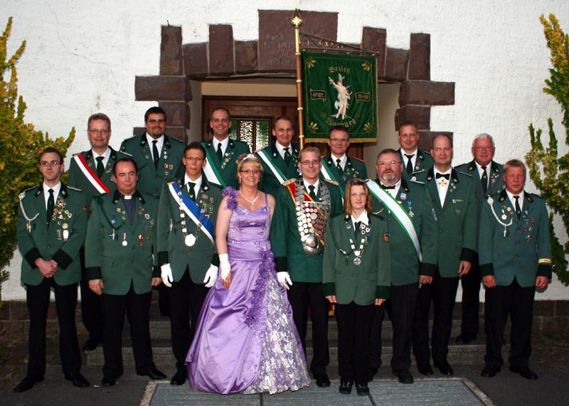 Bezirkskönigschießen 2010