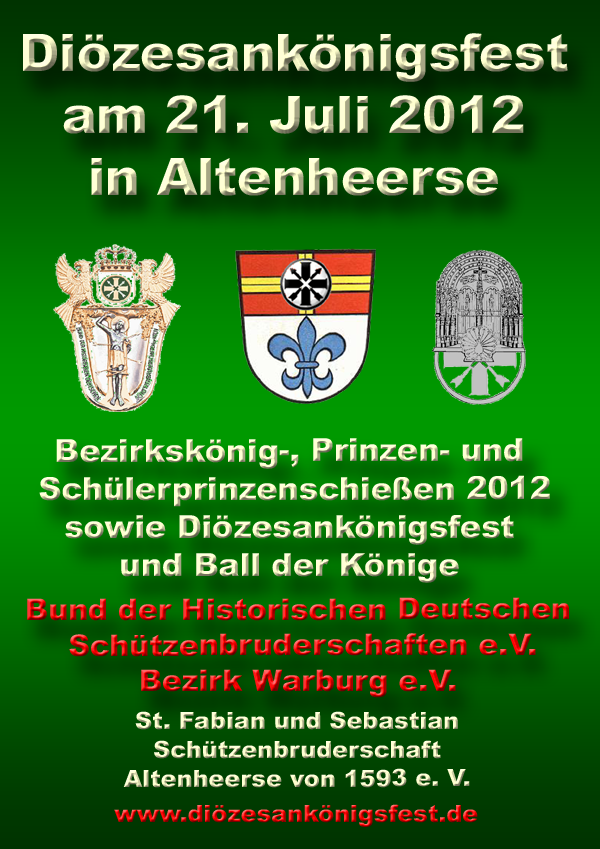 Diözesankönigsfest in Altenheerse