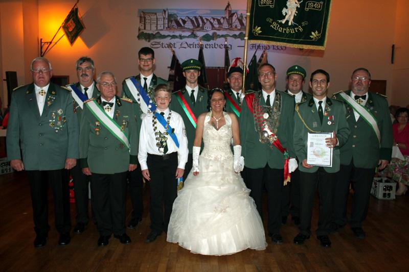 Bezirkskönig,- Prinzen- und Schülerprinzenschießen 2011