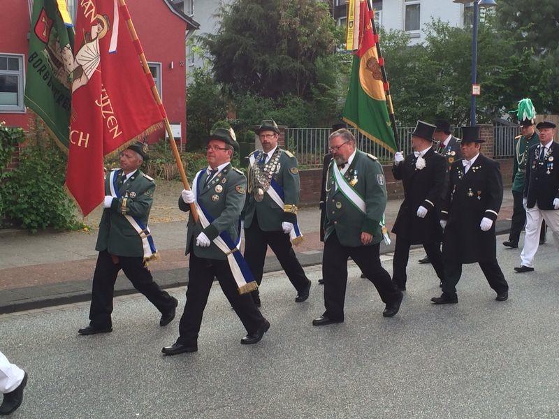 Marsch zur St.-Jakobi-Kirche