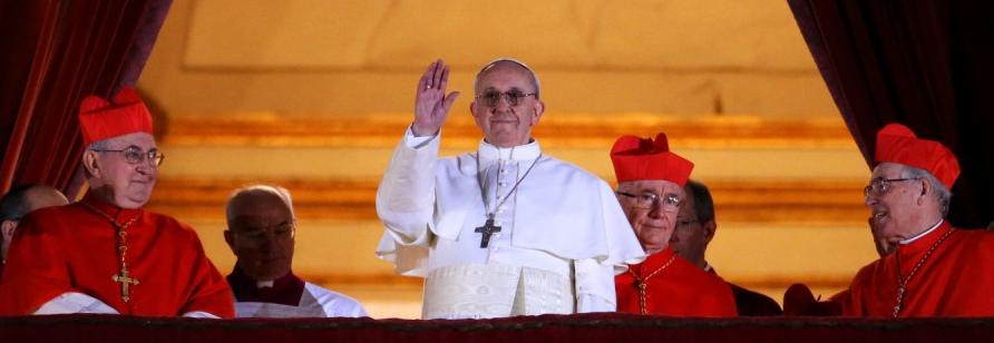 Jorge Bergoglio ist Papst Franziskus