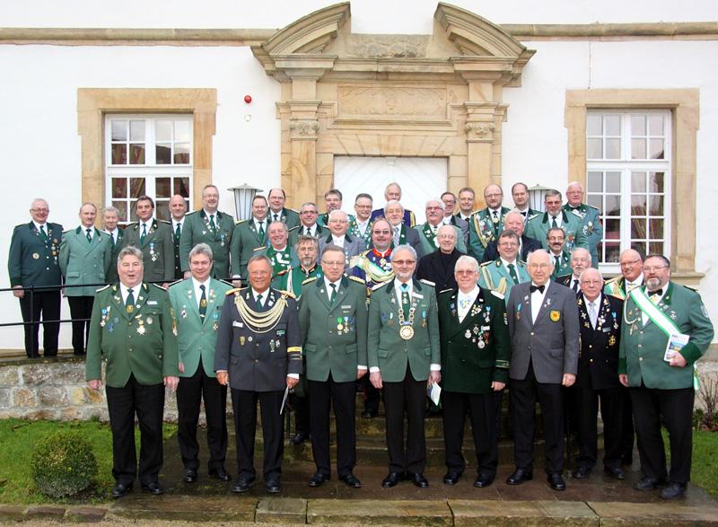 Gruppenbild - Teilnehmer EGS-Regionaltagung 2012 - Foto: Carola Kuck-Goergen