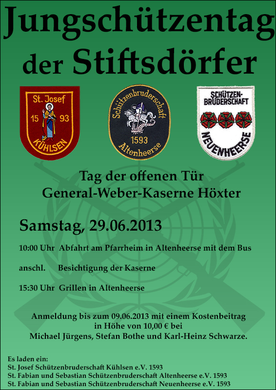 Plakat Jungschuetzentag Altenheerse