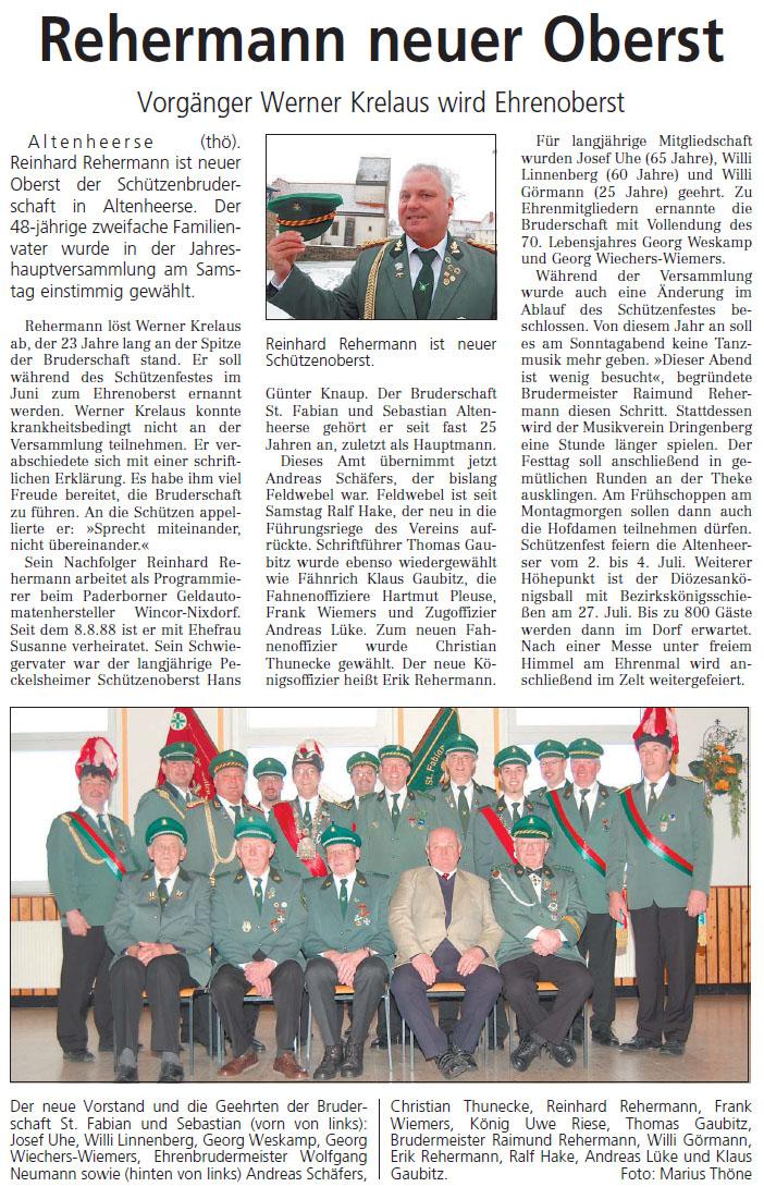 Westfalen-Blatt Nr. 19 vom 23.01.2012