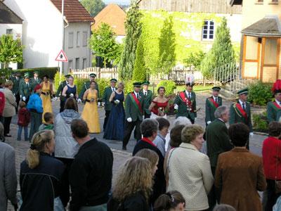 Festumzug Schützenball 2004