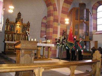 Schützenmesse in der Pfarrkirche St. Georg, Altenheerse