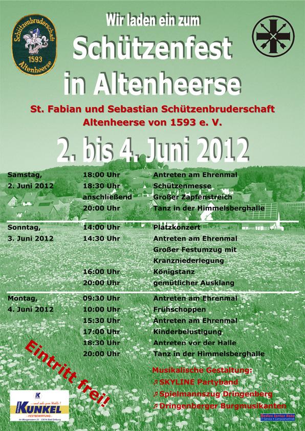 Schützenfest in Altenheerse