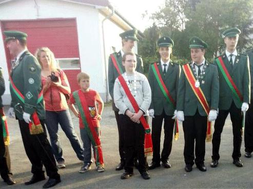 Schülerprinz Tobias Hake - Prinz Nils Rehermann